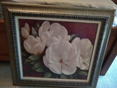 Nice Magnolia Flower Wall Hanging from Kohl's Department Store