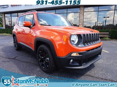 2018 Jeep Renegade Latitude (orange)