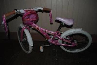 $59 Schwinn Hawaii 20-Inch Girls Bike w/ tote bag