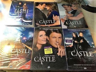 New/Unused DVDs Of The First Six Seasons Of Castle!!