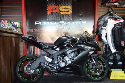 2016 Kawasaki Ninja ZX-6R ABS SuperSport Motorcycles Lake Park, FL