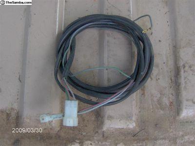 e brake & seat-belt warning wires