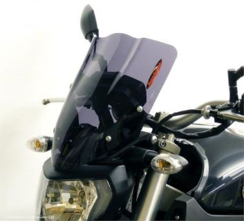 Purchase Yamaha FZ-09 MT09 14 16 Light Screen Shield Windshield 380mm Light Tint MADE UK motorcycle in Ann Arbor, Michigan, United States, for US $99.95
