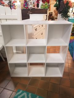 Cubby organizer $35 (36 36 and 12 deep