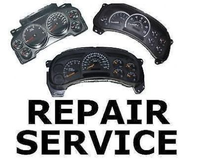 Buy FITS CHEVY TAHOE INSTRUMENT CLUSTER GAUGE SPEEDOMETER REPAIR REBUILD motorcycle in Duluth, Georgia, United States, for US $49.00