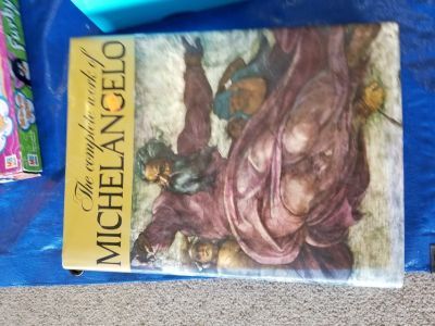 The complete work of Michael Angelo huge hard cover book