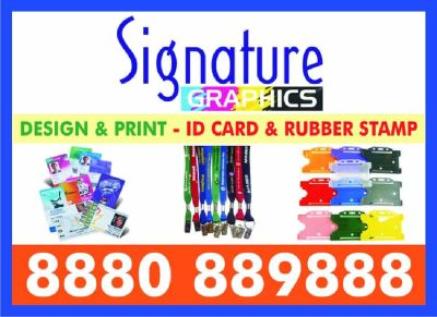 Pre-Ink Rubber Stamp | Corporate ID | Plastic ID Card