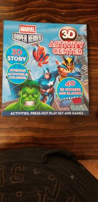 Marvel Superheroes Activity book
