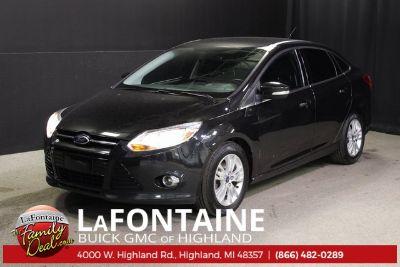 2012 Ford Focus SEL (Black)