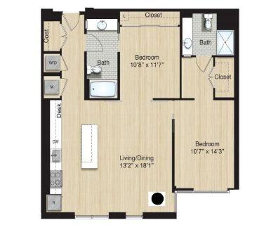 $8880 2 apartment in Bloomingdale