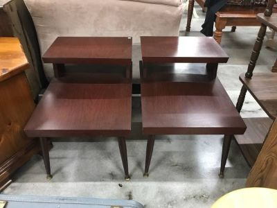 Vintage Matching End Tables