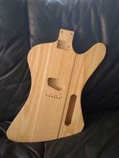 firebird ash guitar body