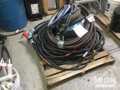 Lot of (8) Hoses