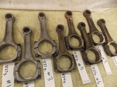 Stock Big Block Chevy Truck Rods 3/8 bolts good heavy perfor