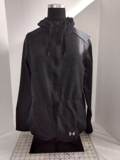 Under Armour Cold Gear Hooded Zip Up Jacket Ladies M