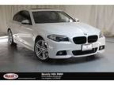 Used 2016 BMW 5 Series White, 29.9K miles