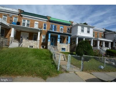 3 Bed 2 Bath Foreclosure Property in Baltimore, MD 21215 - Belle Ave