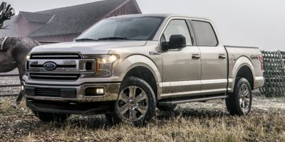 2018 Ford F-150 2WD SuperCrew Box (Ruby Red Metallic Tinted Clearcoat)