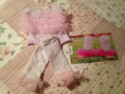 Little Bunny Tutus diaper cover and leg Warmers (bunny legs)