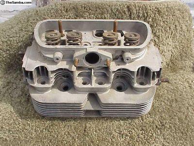 Pair 40 hp, 1200, Rebuilt cylinder heads, complete