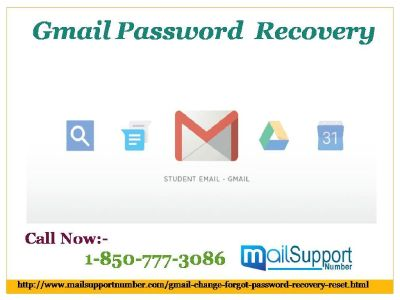 Gmail Password Recovery 1-850-777-3086: A tool to get password back