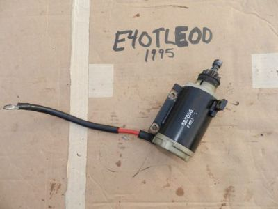 Sell 1995 Evinrude 40hp E40TLEOD Electric Starter Motor Start Good Johnson 48 50 motorcycle in Port Charlotte, Florida, United States, for US $40.21