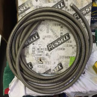 Find 632140 #8x20' Russell Proflex Braided Stainless Hose motorcycle in Cleveland, Ohio, United States, for US $85.00