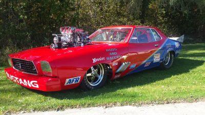77 Mustang 8 second car