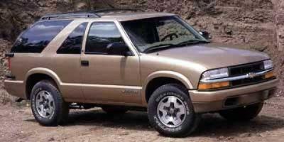 2000 Chevrolet Blazer LS (Victory Red)