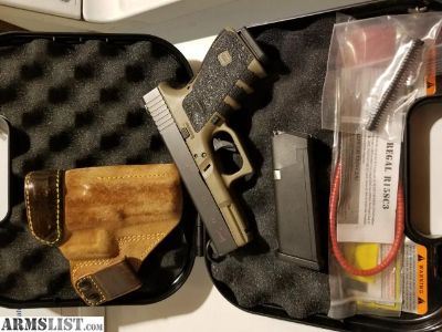 For Sale: Glock 19 Gen 3 NS FDE