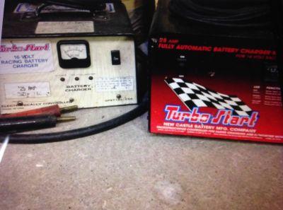 Turbo Start 16 Volt Battery Charger