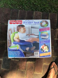 Excellent used condition Fisher-Price booster seat highchair