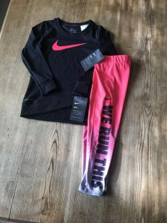 4T girls Nike outfit