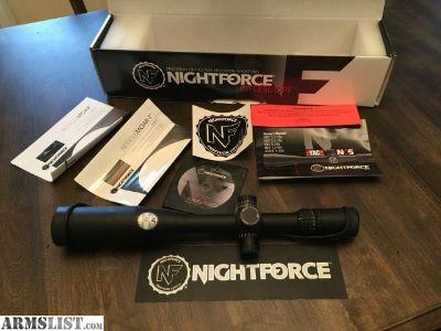 For Sale: NightForce NSX 5.5-22x50mm C504