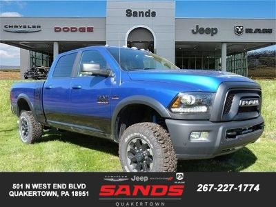 2018 RAM 2500 POWER WAGON CREW CAB 4X4 6'4 B (Blue Streak Pearl Coat Paint)