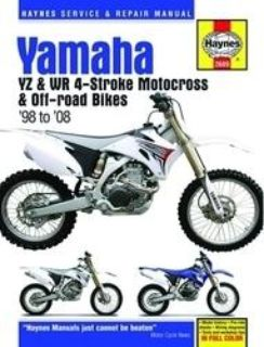 Find Haynes Service Manual for Yamaha YZ/WR 250-450 4-Stroke Motocross/Off-Road Bikes motorcycle in Ashton, Illinois, US, for US $40.95