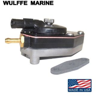Find Fuel Pump for Johnson Evinrude Outboard 9.9, 15 hp 1993-06 Rplcs 18-7351 438562 motorcycle in Mentor, Ohio, United States, for US $44.50
