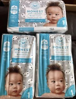 Honest Diapers Size 1