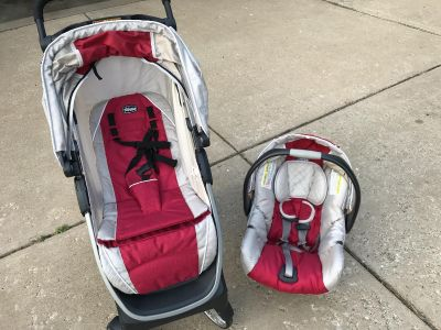 Chicco Bravo Stroller, Keyfit 30 car seat and base