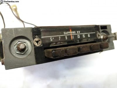 Sapphire XV radio