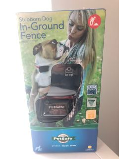 New PetSafe In ground dog fence