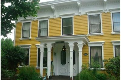this stunning circa 1836 colonial style home yours for a year. Single Car Garage!