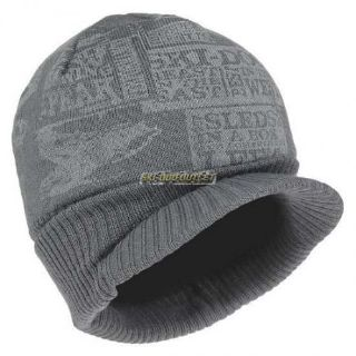 Purchase Ski-Doo Teen Knitted Cap - Charcoal Grey motorcycle in Sauk Centre, Minnesota, United States, for US $14.99