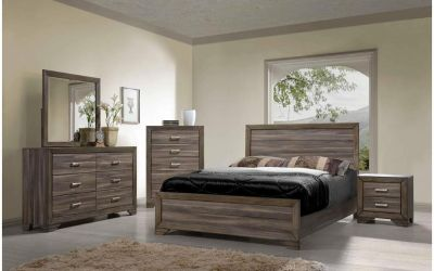 New 5 piece queen bedroom set