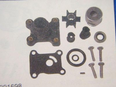 Find WATER PUMP KIT 18-3327 FITS JOHNSON EVINRUDE OUTBOARD REPLACES 391698 OMC MOTOR motorcycle in Osprey, Florida, US, for US $44.95