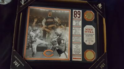 Mike Ditka plaque