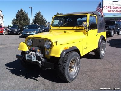 1985 Jeep CJ-7 Base (Yellow)