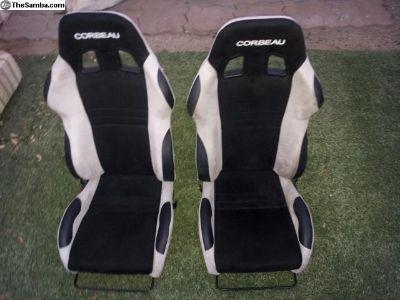 Porsche 911 Corbeau seats