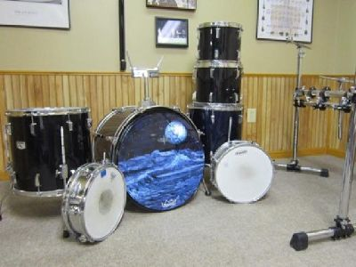 $375 Tama Rockstar Drumset with Extras