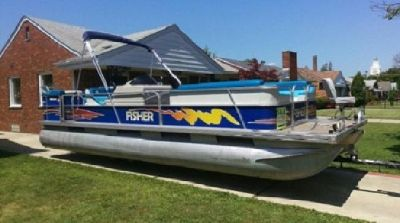~~1995 24~Ft Fisher~PONTOON BOAT~;~